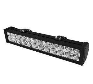 Bar Aluminum Lights – 20 Inch 24pcs 3W LED 72W – Black
