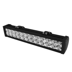 Bar Aluminum Lights – 20 Inch 24pcs 3W LED 72W – Black