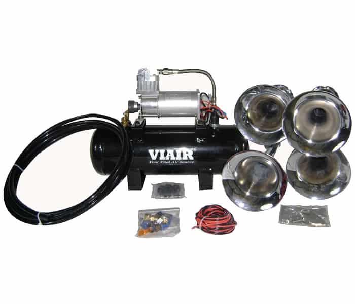 Professional Loud Mouth 150 PSI Quad Train/Truck Air Horn Kit