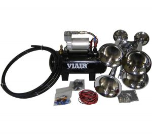 Entry Level Loud Mouth 120 PSI Quad Train/Truck Air Horn Kit