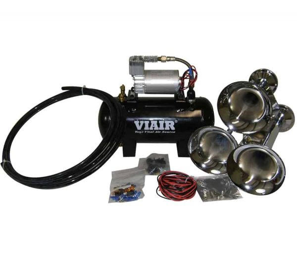 Entry Level Loud Mouth 120 PSI Triple Train/Truck Air Horn Kit