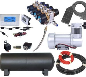 Large Complete Plug and Play Air Management System – 3/4 HP, 3/8″ Valves (200PSI)