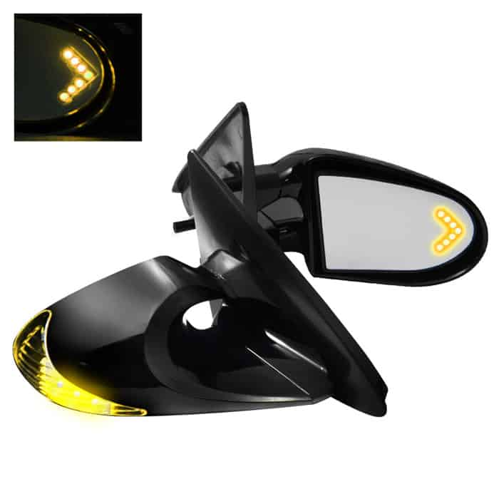 Mirror G2 M3 W/Amber Arrow LED Mirror - Power 3 Wires