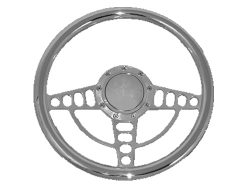 Full Custom Billet Steering Wheel - Malibu