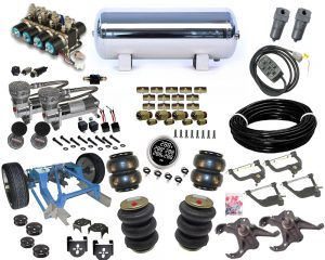 1973-1991 Chevrolet C20, C30, C35 Plug and Play Air Suspension Kit – Street Scraper