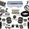 2012-2015 Ford F250, F350 4WD Plug and Play Air Suspension Kit (single wheel, super duty)