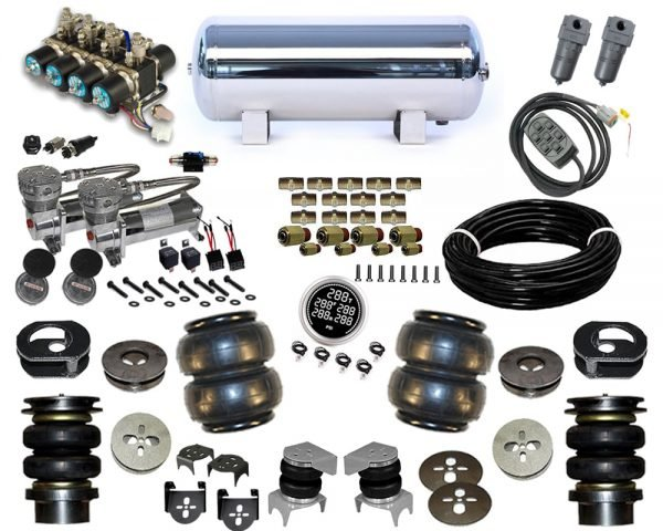 1998-2003 Isuzu Rodeo, Amigo, Frontera, Mu Plug and Play Air Suspension Kit