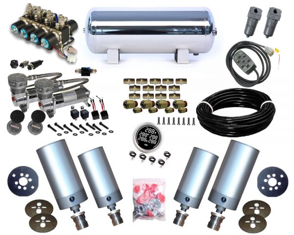 1995-1999 Dodge Stratus 2Dr, Cirrus, Breeze Plug and Play Air Suspension Kit – Cylinder Kit