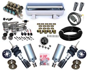 2002-2005 Hyundai Sonata Plug and Play Air Suspension Kit