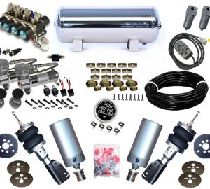 2000-2001 Infiniti I30, I35, Maxima Plug and Play Air Suspension Kit