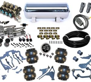 1961-1963 Lincoln Continental Plug and Play Air Suspension Kit – Street Scraper