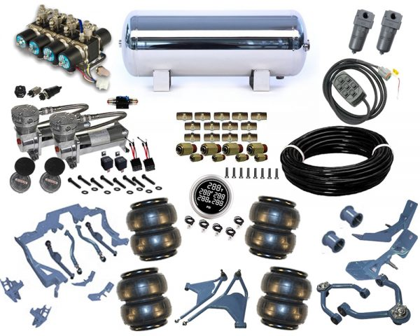 1964-1969 Lincoln Continental Plug and Play Air Suspension Kit – Street Scraper