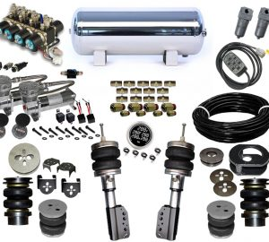 1993-2006 Volkswagen Touran Plug and Play Air Suspension Kit