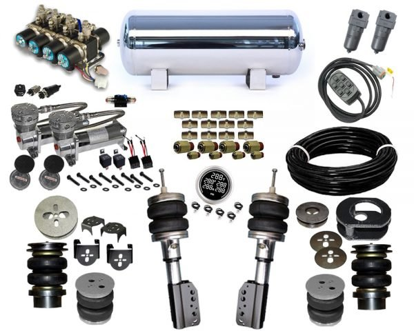 2003-2006 Mercury Grand Marquis, Crown Victoria, Marauder Plug and Play Air Suspension Kit