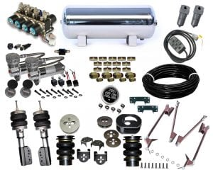 2004-2010 Chevrolet Colorado ZQ8 , Canyon Plug and Play Air Suspension Kit