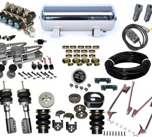 2005-2015 Nissan Xterra, QX56 Plug and Play Air Suspension Kit