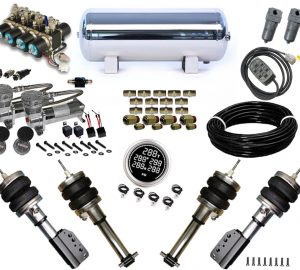 2001-2006 Volkswagen Passat USA 4wd Plug and Play Air Suspension Kit