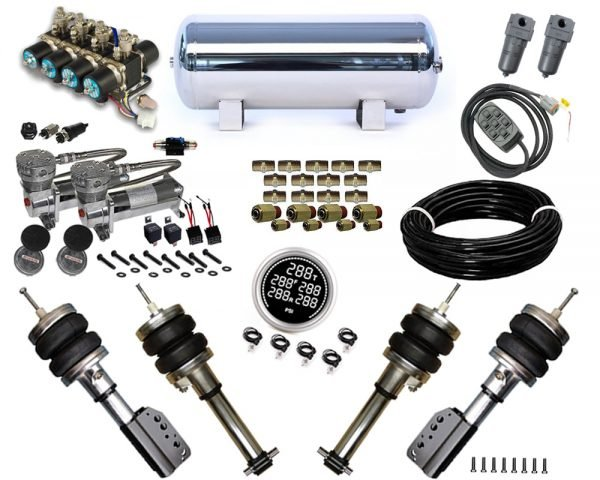 2015-2019 Hyundai Elantra Plug and Play Air Suspension Kit