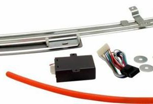 Hidden License Plate Retractor Kit with One Touch Switch