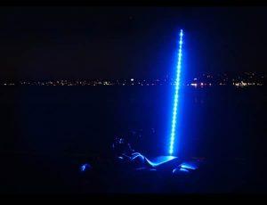 Plasmaglow ATV LED Whip – 6ft (Blue)