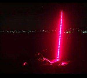 Plasmaglow ATV LED Whip – 6ft (Red)