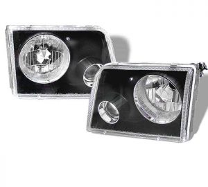 1993-1997 Ford Ranger Projector Headlights – Black