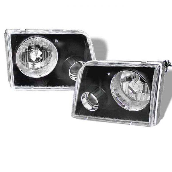 1993-1997 Ford Ranger Projector Headlights – Black