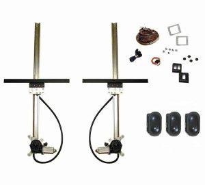 Flat Power Window Kit (3 Switches)
