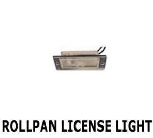 Rollpan License Plate Light