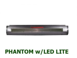 1995-2003 TOYOTA PICKUP, TACOMA, HILUX Steel Rollpan – Full Phantom Billet Insert w/ 1 LED Strip