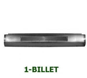 1993-1997 FORD RANGER FLEETSIDE Steel Rollpan – Single Billet No License