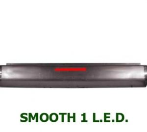 1987-1996 FORD F150, F250, F350 FLEETSIDE Steel Rollpan – Smooth, 1 LED Strip