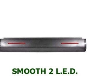 1999-2006 CHEVROLET TAHOE, YUKON, SUBURBAN Steel Rollpan – Smooth, 2 LED Strip
