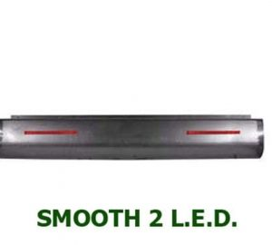 1999-2006 CHEVY C/K15, C/K25, 25HD, C/K35, Silverado FLEETSIDE Steel Rollpan – Smooth, 2 LED Strip