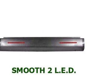 1967-1972 CHEVROLET C/K10, C/K20, C/K30 FLEETSIDE Steel Rollpan – Smooth, 2 LED Strip
