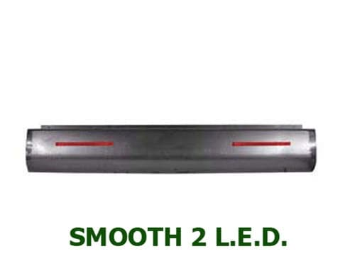 1967-1972 CHEVROLET C/K10, C/K20, C/K30 FLEETSIDE Steel Rollpan – Smooth, 2 LED Strip