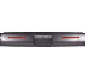 1999-2006 CHEVROLET TAHOE, YUKON, SUBURBAN Steel Rollpan – Smooth, 2 LED Strip w/ License