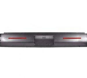 1999-2006 CHEVY C/K15, C/K25, 25HD, C/K35, Silverado FLEETSIDE Steel Rollpan – Smooth, 2 LED Strip w/ License