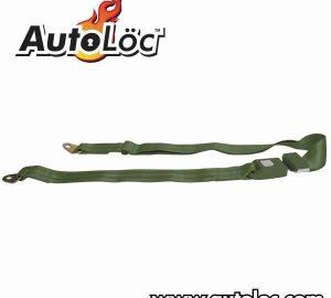 2 Point Army Green Lap Seat Belt  (1 Belt)