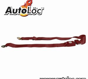 2 Point Burgundy Lap Seat Belt  (1 Belt)