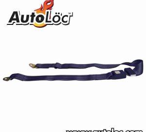 2 Point Dark Blue Lap Seat Belt  (1 Belt)