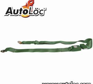 2 Point Dark Green Lap Seat Belt  (1 Belt)