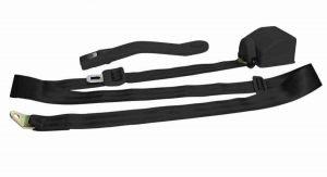 3 Point Retractable Black Seat Belt (1 Belt)