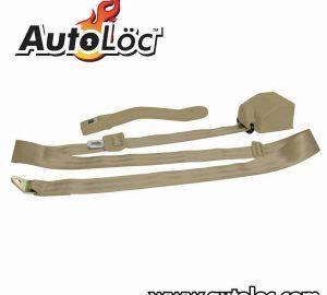 3 Point Retractable Camel Seat Belt (1 Belt)