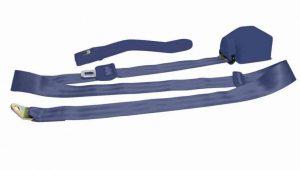 3 Point Retractable Dark Blue Seat Belt (1 Belt)