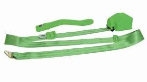 3 Point Retractable Green Seat Belt (1 Belt)