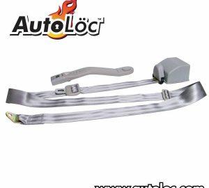3 Point Retractable Grey Seat Belt (1 Belt)