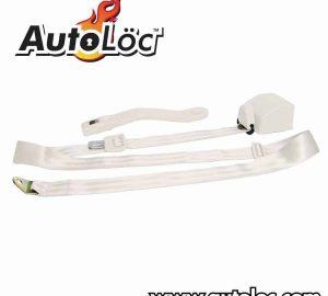 3 Point Retractable Off White Seat Belt (1 Belt)