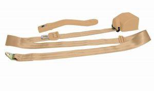 3 Point Retractable Peach Seat Belt (1 Belt)