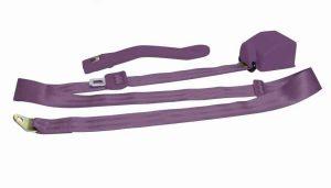 3 Point Retractable Plum Purple Seat Belt (1 Belt)
